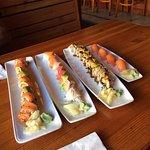 Delicious rolls and nigiri sushi! Will visit next time in Astoria!