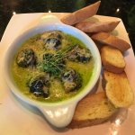 Best escargot EVER. I have eaten this all over the world and hands down, this is the best.  The