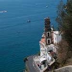 the church from Atrani