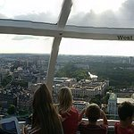 view from London Eye...