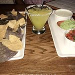 Chips & THE BEST QUESO (plus salsa and guac)!