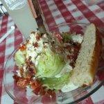 lettuce wedge salad
