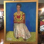 Portrait of Frida Kahlo by Diego Rivera