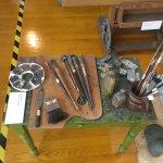 Paintbrushes belonging to Diego Rivera