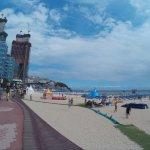 Beach side walk