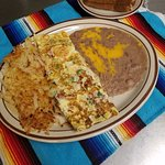 Mexican Omelette Plate