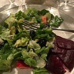 Very flavorful Berry Salad with beets added