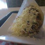 Delicious arepa
