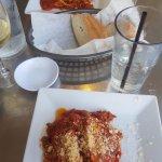 Lasagna from Sole Luna Cafe.