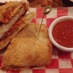 The Chicken Parm sandwich