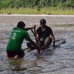 Cruzando en balsa el río Cutivireni | Satipo - Junín- Perú | Selva Central | Turismo y Viajes