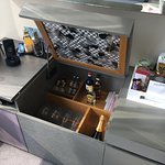 Fully equipped mini bar