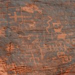 Valley Of Fire State Park - Nevada - Petroglyphs