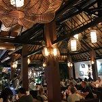 Dinner Time at Cafe des Artistes Ubud - Bali