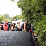 NARROW TRAIL ENTRANCE TO NA'ILL'ILI-HAELE WATERFALL TRAIL