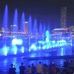water & laser