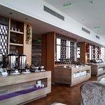 buffet area of 23rd floor restaurant