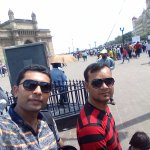 Selfie with Gateway of India