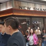 New Shanghai at Queens Plaza very busy restaurant