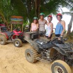 Don't wear your best clothes of you are renting a quad and going through the jungle ;)