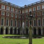 Inside Hampton Court