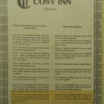 Cosy Inn