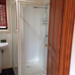 Bathroom with shower only in Cragganmore cottage