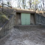 WWII ammunition storage bunkers