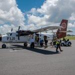 Airplane to Taveuni