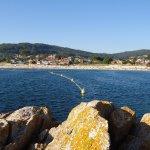 Playa de Areas, desde las rocas