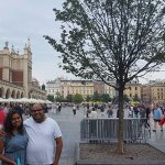 Krakow old town sq with my love