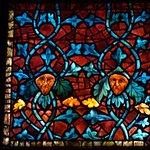 Detalle de las vidrieras
