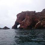 El Elefante, en invierno los pescadores están esculpiendo la isla para que quede bonita! (es bro