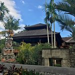Restaurant view from the pool - Ulun Ubud Resort & Spa