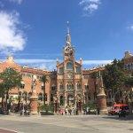 San Pau dos de Maig Hospital (museum) - 1 minute away