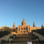 National Art Museum above the Magic Fountains of Montjuic