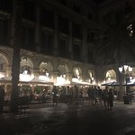 Nightlife in one of the many Barcelona Plazas near La Rambla