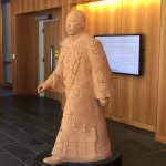 Martin Luther king's statue at School of law