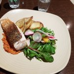 La Camera Restaurant Southgate - pan fired barramundi