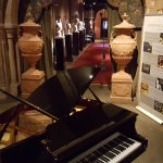 The Grand Piano near reception area