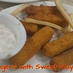 Fish Fingers with Sweet Mayannaise