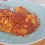 Ravioli al pomodoro