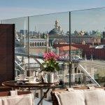 Summer Terrace Kremlin view