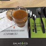 """Salad&Co est un vrai """"coup de coeur"""" pour moi, je reviendrais sans hésiter et je le recommandera"""