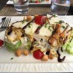 Delicious Caesar salad