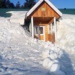 The hut!