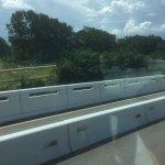 Leaving Penang bridge