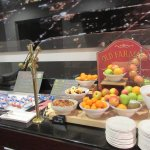 Fresh Fruit and Cold Cuts at Andiamo