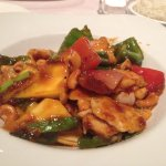 Mango Chicken with Coconut Sticky Rice side.