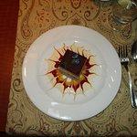 Frangelico cake or work of art? Both!